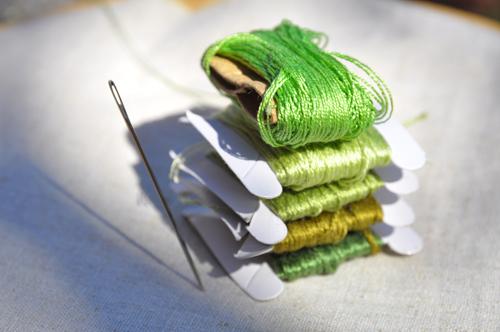 Autumn sunshine-green