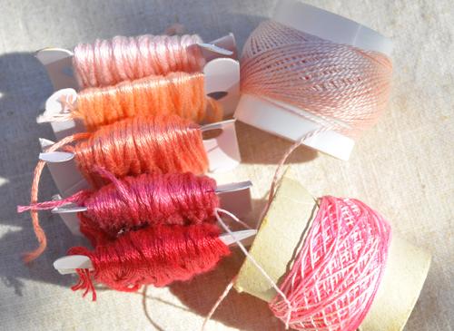 Autumn sunshine-pink